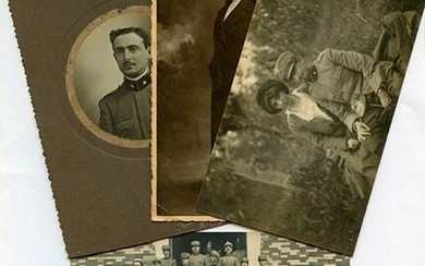 Lot of 4 photograph from WWI. Lot of 4 photograph...