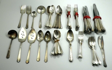 Lot of American Cutlery Parts made by Oneida Silversmiths