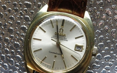 Omega constellation automatic Chronometer wristwatch with ...