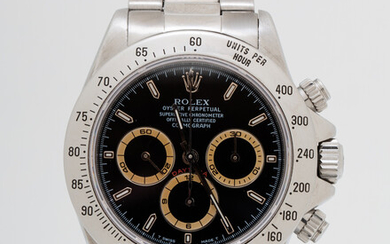 Rolex Daytona, Ref. 16520, U series from 1998, Zenith, Patrizzi Dial, Oyster Perpetual