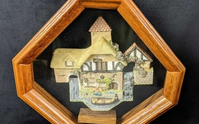 Sold Out David Winter Pershore Mill Shadow Box