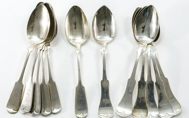 Sterling Silver serving spoons