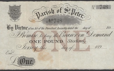 The David Kirch Collection of Jersey Paper Money - Part