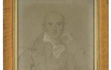 Thomas Lawrence, P.R.A. (1769-1830), Portrait of George Canning, M.P. (1770-1827), half-length, seated
