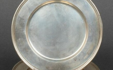 Tiffany & Co. Sterling Silver Bread Plates, 9