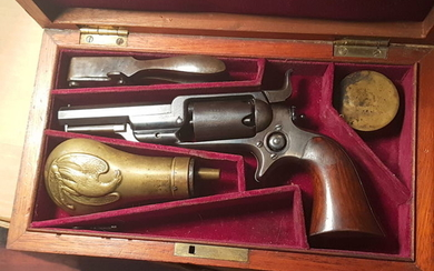 USA - Colt - 1855 Sidehammer - coffret - Percussion - Revolver - 28
