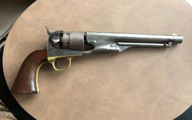 United States of America - Colt - Model 1860 - Single Action (SA) - Percussion - Revolver