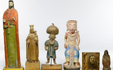 Wood Figurine Assortment