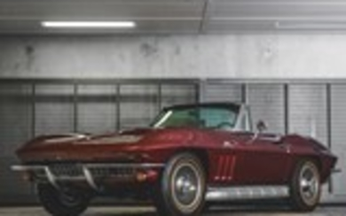1966 Chevrolet Corvette Sting Ray 427/450 Convertible