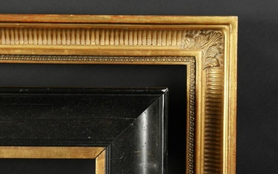 "A 19th Century Ebonised Frame, 13"" x 10"" - 33cm x"