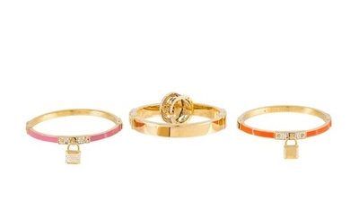 A COLLECTION OF MICHAEL KORS JEWELLERY, (4)
