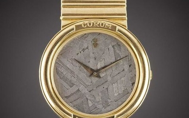 A GENTLEMAN'S SIZE 18K SOLID YELLOW GOLD CORUM