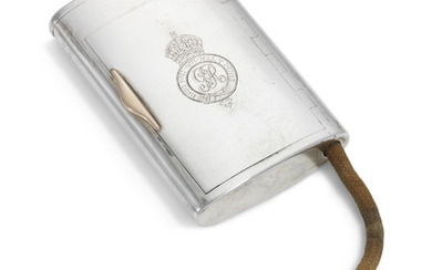 A GEORGE V SILVER CIGARETTE-CASE, MARK OF SEBESTIAN HENRY GARRARD, LONDON, 1917