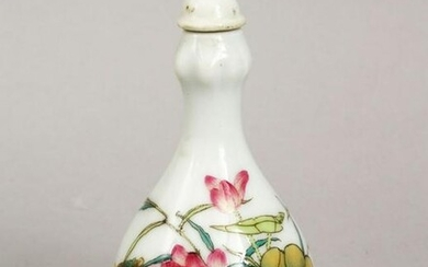 A GOOD CHINESE KANGXI STYLE FAMILLE ROSE PORCELAIN