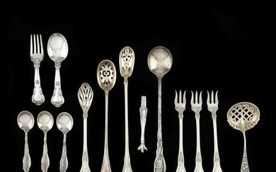 A Grouping of American Sterling Silver Flatware
