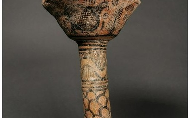 ANCIENT INDUS VALLEY TERRACOTTA CHALICE