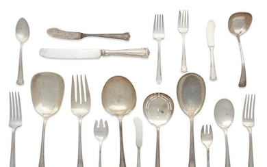 An American sterling silver flatware set R. Wallace &...