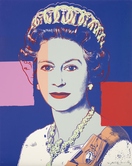Andy Warhol, Queen Elizabeth II of the United Kingdom, from Reigning Queens