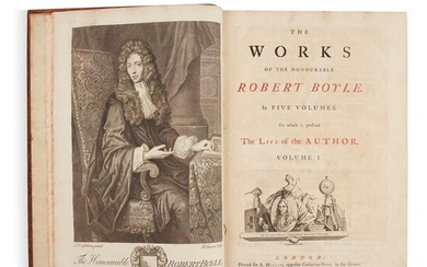 Boyle, Robert The works... in five volumes