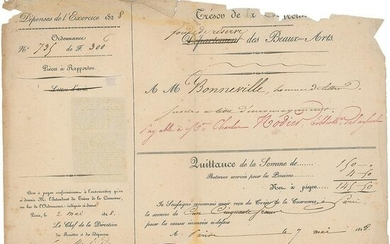 Charles Nodier Document Signed