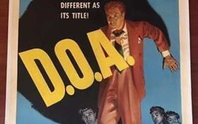 D.O.A. (1950) US One Sheet Movie Poster LB