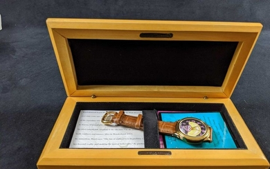 Disney Limited Edition Watch Cheshire Cat Signature
