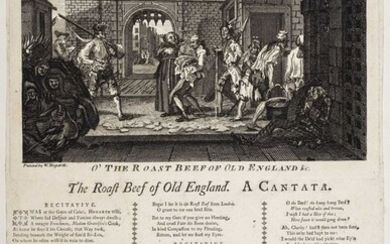 Forrest (Theodosius). The Roast Beef of Old England. A Cantata, circa 1749