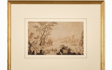 Francesco Bosio (act. 1725 1756), River Landscape, 1...