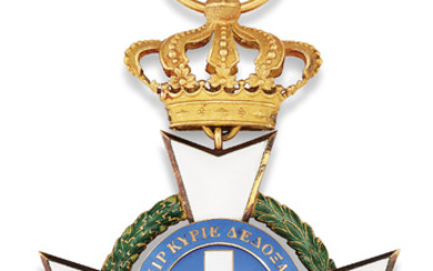 GREECE, ORDER OF THE REDEEMER, BADGE,