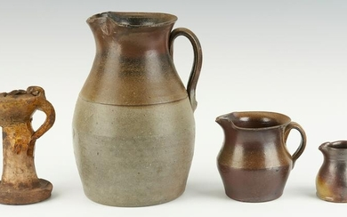 Grouping of Middle Tennessee Stoneware Including Grease