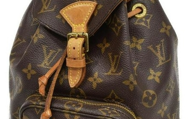 LOUIS VUITTON 'MONTSOURIS' MONOGRAM BACKPACK