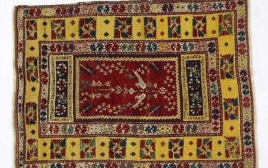 MIHALICIK Hand-knotted and hand-worked carpet, origin