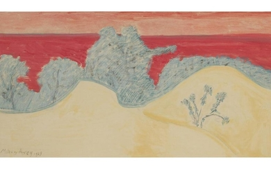 MILTON AVERY | DUNES AND RED SEA