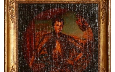 Old Master Oil on Board Russian Imperial Portrait