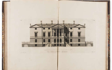 Paine (James) Plans, Elevations and Sections, of Noblemen and Gentlemen's Houses..., Part I only, first edition, 55 engraved plates, for the Author, 1767.