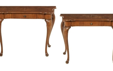 Pair of Provincial Louis XV-Style Side Tables