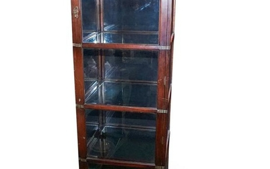 Ralph Lauren Wood and Glass Vitrine