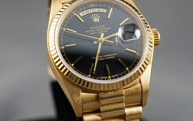 Rolex 18k Yellow Gold Oyster Perpetual Unworn