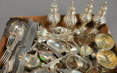 Sterling silver lot to include Tiffany & Co. large
