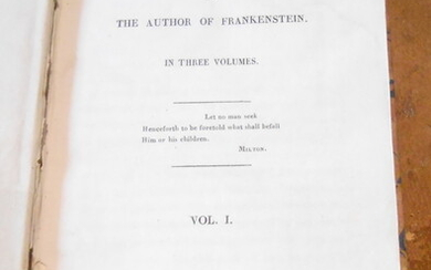 The Last Man by The Author of Frankenstein