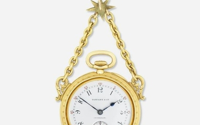 Tiffany & Co. Patek Philippe antique gold pocket watch