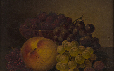 WILLIAM MASON BROWN Still Life with Fruit