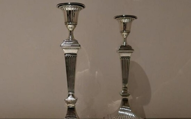 19th Century Antique Victorian Sterling Silver Pair