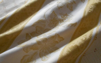 4.00 x 2.80 m High quality valuable Jacquard Jacquard Fabric - Textiles - 21st century