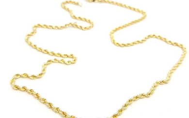585 Yellow gold - Necklace
