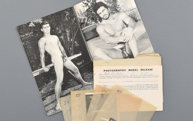 7 Bruce Bellas Nude Male Photos, Negatives, & Catalog - Bruce Bellas (1909-1974), aka Bruce of Los Angeles