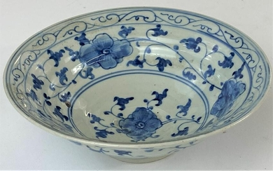 A Blue and White Chinese Bowl