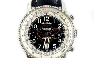 A Breitling automatic gentleman's Navitimer Montbrillant wristwatch, special edition...