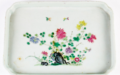 A Chinese Famille-rose Tea Tray