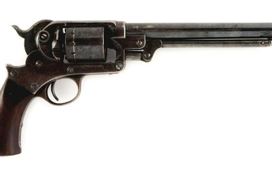(A) STAR MODEL 1863 SINGLE ACTION ARMY REVOLVER